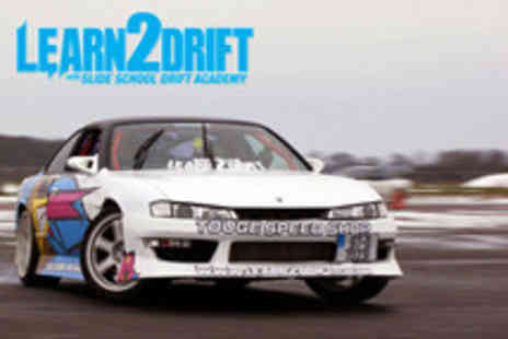 Slide School Drift Academy - 3 Exhilarating drift laps with a professional driver - Save 57%