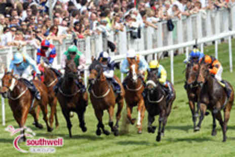 Southwell Racecourse - Grandstand tickets for 2 to evening racing on 9th August & Summer Music event - Save 59%