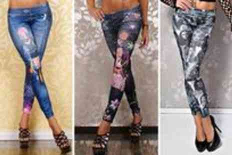 Redstone Shopping - Two stylish pairs of leggings - Save 75%