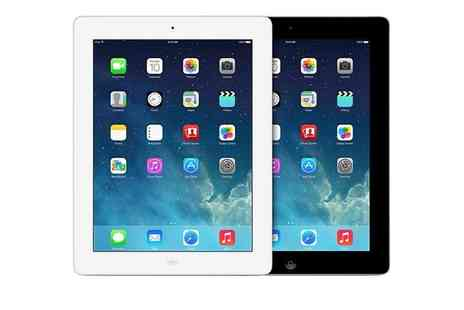 GoldBoxDeals - Refurbished Apple iPad 4 16GB Wi-Fi or 16 or 64GB Wi-Fi Plus 4G Cellular With Free Delivery - Save 0%