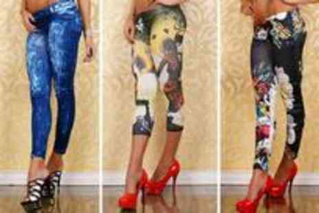 Redstone Shopping - Four stylish pairs of leggings - Save 83%