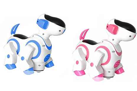Groupon Goods Global GmbH - One or Two Childrens Dancing Robot Dogs - Save 74%