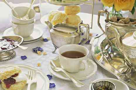 Buxton Palace Hotel - Traditional afternoon tea with access to leisure facilities for two - Save 40%