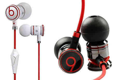 Minterr - Monster iBeats by Dr Dre Noise-Isolating Earphones Choose 2 Colours - Save 63%