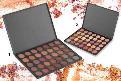 Jazooli - One La Roc 35 colour eye shadow palette or two - Save 62%