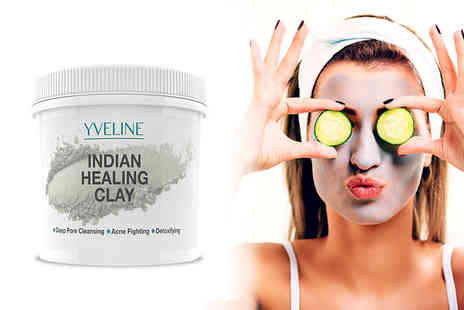 Blush Look - Yveline 450g indian healing clay - Save 82%
