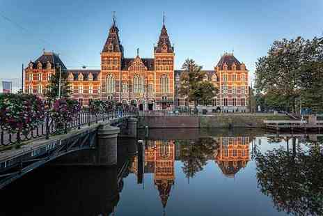 Crystal Travel - Four Star Two nights Stay Amsterdam city break with flights - Save 34%