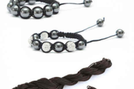 Bijoux By Me - His and Hers Make Your Own Bracelet Kit - Save 53%