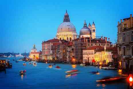 iFly Holidays - Four Star Two nights Stay Venice break including flights and a bottle of wine on arrival - Save 55%