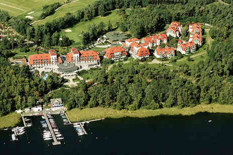 A Rosa Scharmützelsee - Lakeside Wellness and Golf Retreat For Two - Save 53%