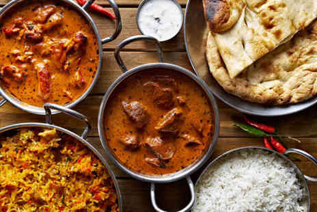 The Raj - £25 to spend on food and drink for two £50 to spend for four - Save 48%