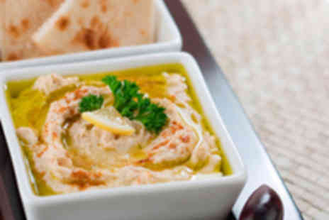 Rowsha Lebanese Restaurant - Five Mezze Dishes for Two with Lebanese Coffee - Save 53%