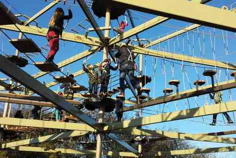 Sky Trail Adventure - Sky Trail high ropes experience for two or four - Save 0%