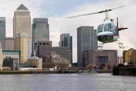 Buyagift - 25 to 30 minute helicopter ride over London - Save 0%
