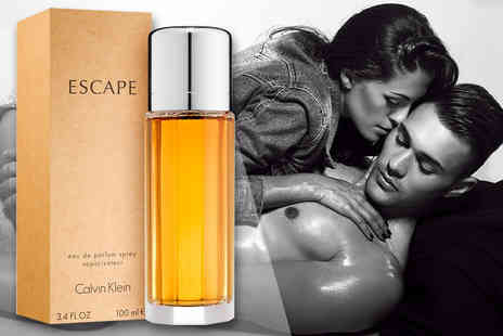 Deals Direct - 100ml bottle of Calvin Klein Escape eau de parfum for her - Save 61%
