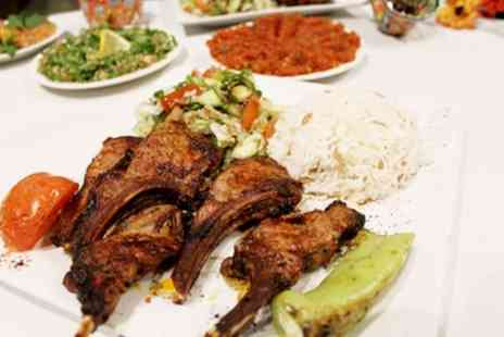 Saray Restaurant - Two Course Turkish Meal for Two or Four - Save 47%