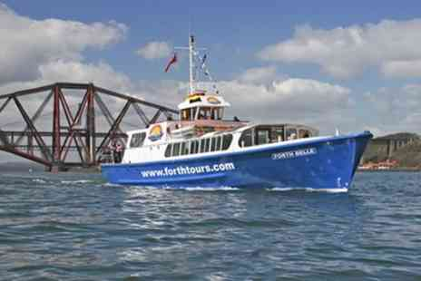 Forth Boat Tours - Boat Trip on Firth of Forth with Cream Tea for Two - Save 50%