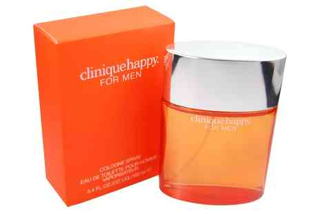 Groupon Goods Global GmbH - Clinique Happy For Men 100ml Edt Spray - Save 29%