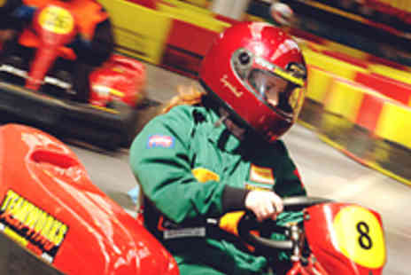 Teamworks Karting - 30 Minute Indoor Karting Experience - Save 57%