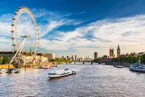 OMGhotels - Three Star overnight London stay with breakfast and three course French dining - Save 0%