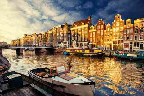 Crystal Travel - Two or three night Amsterdam city break with flights - Save 26%