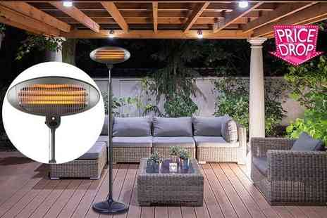 Who Needs Shops - Two kw outdoor electric patio heater - Save 74%