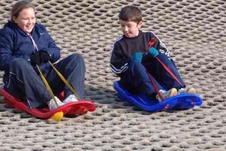 Ackers Adventure Centre - One Hour Tobogganing Pass for Up to Four Children - Save 40%