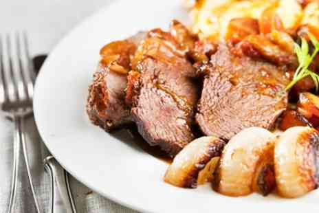 The Pilot Pub - Sunday Roast with Beer or Soft Drink for Two or Four - Save 33%
