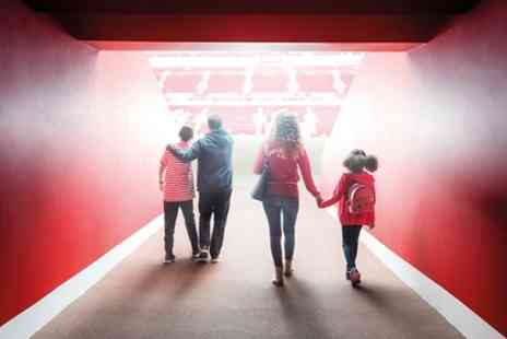 Liverpool Football Club - One child, student, senior or adult ticket to Liverpool Stadium Tour on 17 February To 15 May 2018 - Save 25%