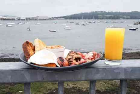 The Old Rowing Club - Full English Breakfast with Orange Juice for One or Two - Save 31%