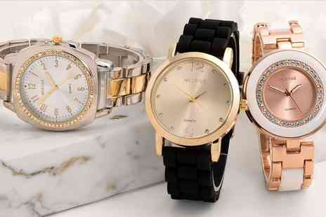 Neverland Sales - Mestige Womens Watches with Crystals from Swarovski With Free Delivery - Save 65%