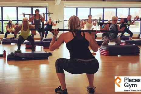 Places Gym - Five day gym and fitness class pass - Save 80%