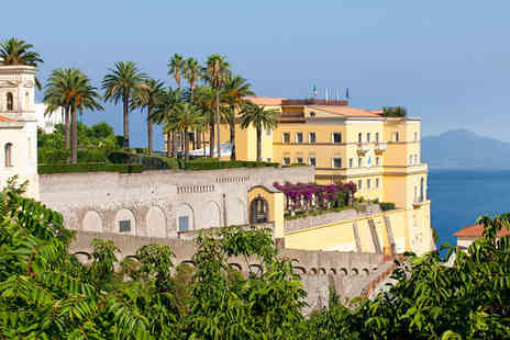 Grand Hotel Angiolieri - Five Star Escape to a Seafront Gulf Hotel For Two - Save 72%