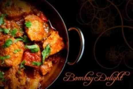 Bombay Delight - Three Course Indian Meal For Four With Sides, Rice and Naan - Save 60%