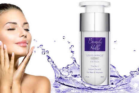 Goods Direct - 30ml Beverly Hills Instant Facelift & Eye Tuck Serum - Save 73%