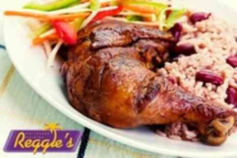 Reggies Caribbean Cuisine - Three Course Caribbean Meal For Two - Save 51%