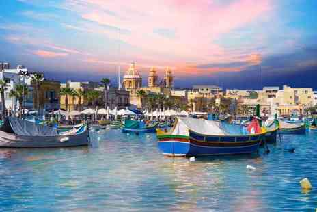 Crystal Travel - Seven night Malta stay with return flights - Save 41%