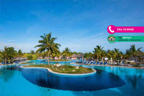 Your Holidays - Seven night 5 Star all inclusive Cuba holiday with flights and transfers - Save 16%