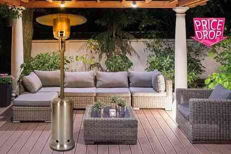 Who Needs Shops - Outdoor gas patio heater - Save 76%