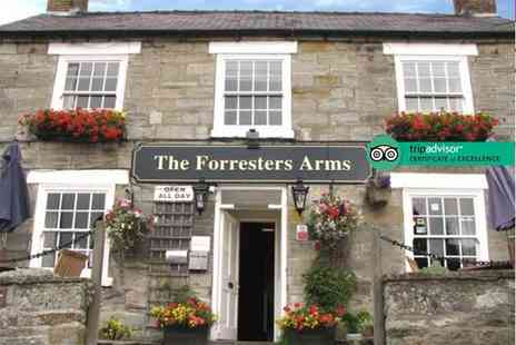 The Forresters Arms - Two night Yorkshire Moors stay for two with breakfast - Save 62%