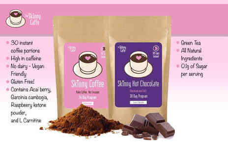 The White Star Key Group - 30 day supply of skinny hot chocolate and skinny coffee - Save 70%