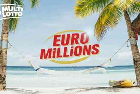 Multilotto - 16 Euromillions Line Bets - Save 75%