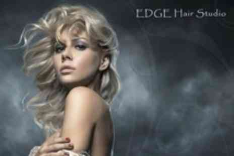 The Edge Beauty Salon - Restyle and Finish With Wella Conditioning Treatment - Save 65%