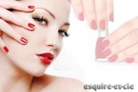 Esquire-Et-Cie - Shellac Manicure Plus Shellac Pedicure - Save 65%