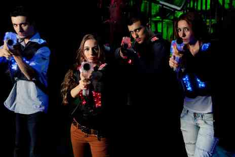 Laser Kombat - One game of laser tag for two - Save 42%