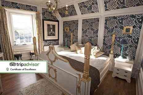The Victoria House B&B - One, two or three night boutique deluxe stay for two with wine and chocolates on arrival - Save 49%