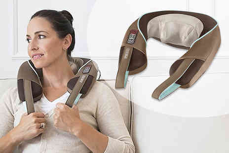 Dream Price Direct - HoMedics shiatsu neck and shoulder heated massager - Save 66%