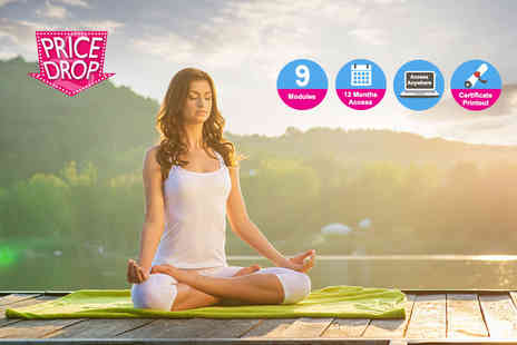 Kew Training Academy - Online diploma in yoga - Save 86%