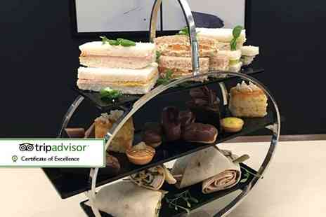 AC Hotel Birmingham - Afternoon tea for two people with a glass of Cava each - Save 45%