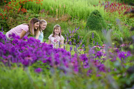 RHS Gardens - Annual Royal Horticultural Society gift membership including entry to four RHS Gardens with a free family guest - Save 24%